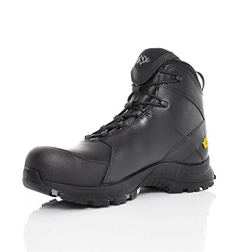 HAIX Black Eagle Safety 50 Mid Atmungsaktive Einsatzstiefel: Workwear für jede Situation. 45