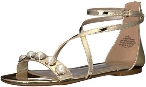 Nine West Women's Dane Synthetic Dress Sandal