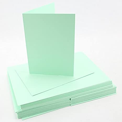 Amazon craft uk blank greeting cards envelopes a6c6 size craft uk blank greeting cards envelopes a6c6 size pastel leafbird green x m4hsunfo