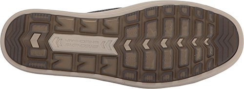 Skechers USA Mens Doren Mercier Oxford Black/Natural