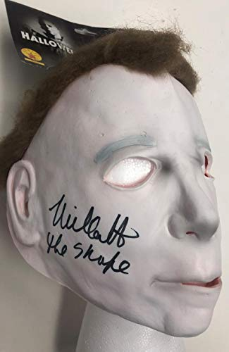 NICK CASTLE SIGNED HALLOWEEN MASK AUTHENTIC AUTOGRAPH BECKETT -