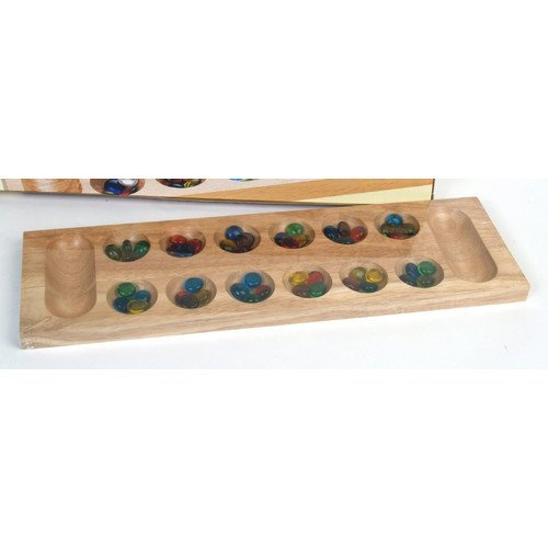 Classic Game Collection Deluxe Wood Mancala