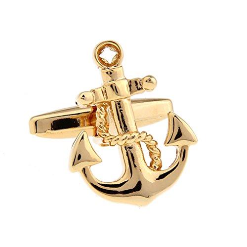 Anchor Rudder Fishing Navy Sailor Boat Sea Cufflinks (Sailor Outfits For Men)