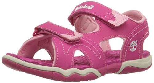 Timberland Adventure Seeker Two-Strap Sandal (Toddler/Little Kid),Pink,4 M US Toddler ()