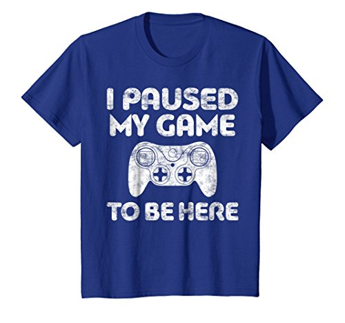 I Paused My Game To Be Here T-Shirt Video Gamer Gift Shirt