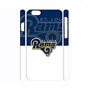 Colorful Frame Glossy Funny Antiproof Football Series Logo Print Cover Skin for Iphone 6 Plus Case - 5.5 Inch