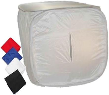 Caja de Luz DynaSun PB01 con 4 Fondos Cerrada Funda 80x80 Box Light para Estudio Fotografico Video: Amazon.es: Electrónica