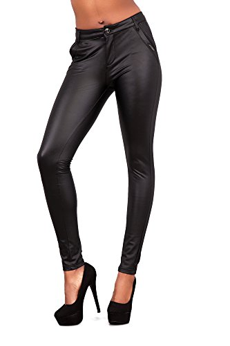 Jeans Lustychic Mid Rise Black Donna rpqwBrd