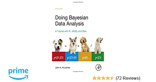 Amazon com: Doing Bayesian Data Analysis: A Tutorial with R