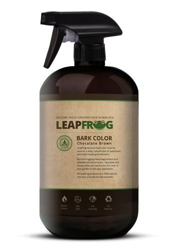 LeapFrog Lawns Chocolate Brown Bark Paint - Ready Spray 32oz by LeapFrog