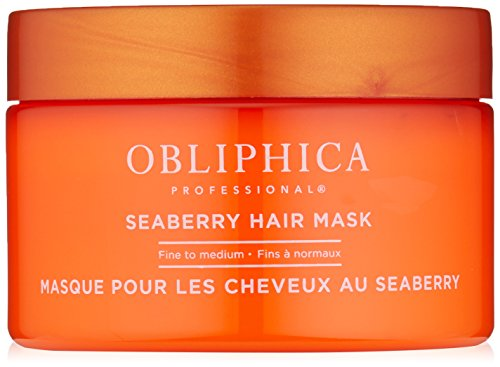 Obliphica Professional Seaberry Fine to Medium Mask, 8.5 Fl Oz