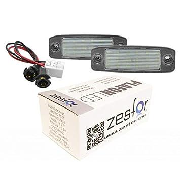 Zesfor Luces de matrícula LED para Kia Sportage 11-15