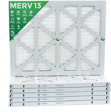 [해외]14x20x1 MERV 13 (MPR 2200) Pleated AC Furnace Air Filters. Box of 6 / 14x20x1 MERV 13 (MPR 2200) Pleated AC Furnace Air Filters. Box of 6