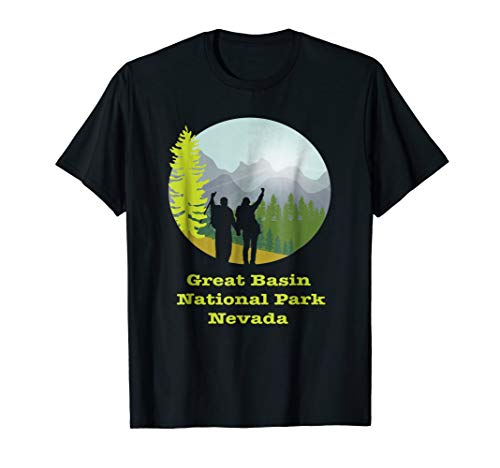 - hiking Great Basin National Park, Nevada tee shirt
