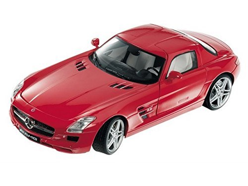 MONDO 1:18 SCALE MERCEDES BENZ SLS AMG DIECAST CAR RED BNIB NEW by Mondo - Mondo Motors