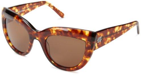 Sabre Runaway SV78-2-3 Cat Eye Sunglasses,Tortoise Frame/Bronze Lens,One - Sunglasses Runaway