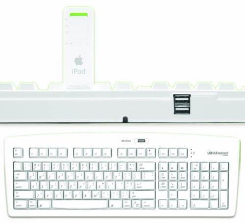 MATIAS PRODUCTS DRB#7025-WHKB USB 2.0 Keyboard ( White )