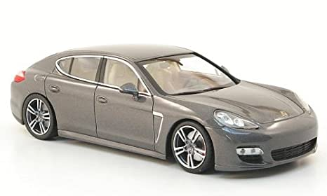 Porsche Panamera Turbo S, metallic-grey, 2010, Model Car, Ready-
