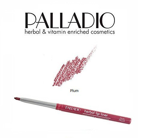 2 Pack Palladio Beauty Retractable Lip Liner 02 Plum