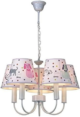Pink Dog, Pendant Lights Ceiling Lighting Fixtures for Girls Room//Baby Girl Nursing Room