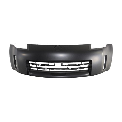 Titanium Plus Autoparts, 2006-2009 Fits For Nissan 350Z Front Bumper Cover BLACK
