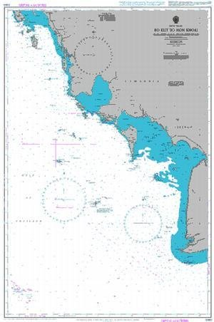 BA Chart 3985: Gulf of Thailand, Ko Kut to Hon Khoai