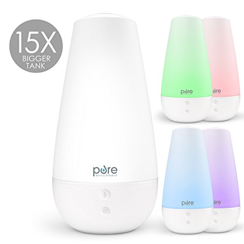 Pure Enrichment PureSpa XL - Extra-Large Premium Aroma Diffuser with 2,000ml Tank - 3-in-1 Unit Also Functions as...