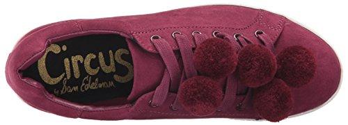 Circus By Sam Edelman Dames Carmela Sneaker Cranberry