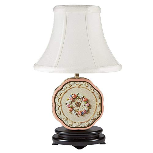 - Vintage Avon Collectible 1981 Valentine Tin Up-cycled Lamp with New Fabric Lamp Shade