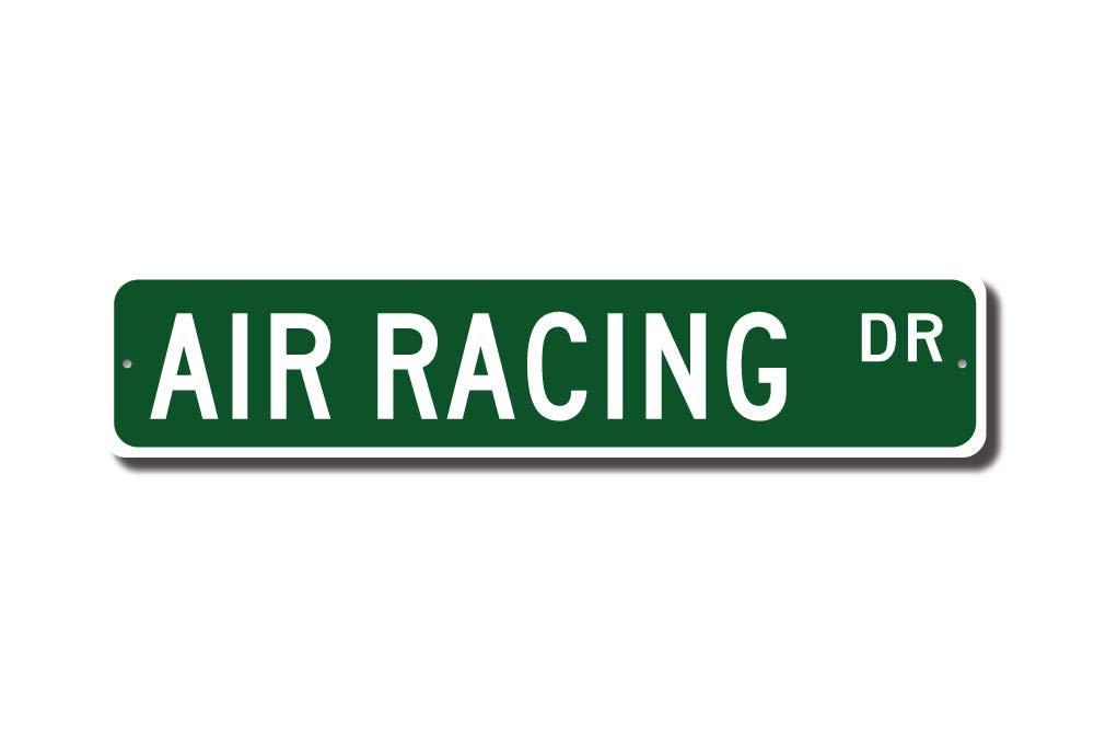 Aire Racing Air Racing - Cartel de aire de carreras de aire ...