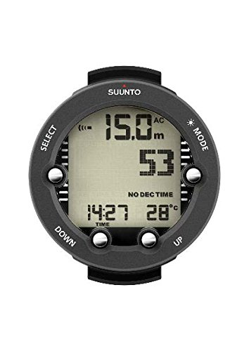 SUUNTO Vyper Novo Wrist Computer with USB Cable, Grey, Without Transmitter