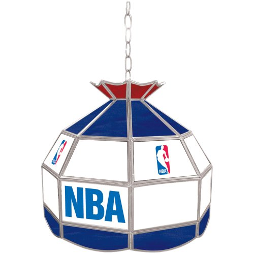 NBA Tiffany Gameroom Lamp, 16'' by Trademark Gameroom