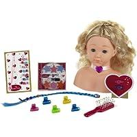 Theo Klein 5236 - Princess Coralie Cabeza Para Maquillar Y Peinar Con Numerosos Accesorios
