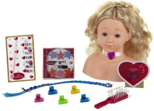 Theo Klein 5236 - Princess Coralie Make-Up Hairstyling Head