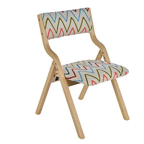 Sun lamps- Solide Holz Klappstühle Einfache moderne Haushaltstuch Stühle Stuhl Mahjong Stühle Stühle Computer Stühle ( farbe : #117 )
