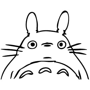 Amazon Com Pig Face Cartoon Decal Vinyl Removable