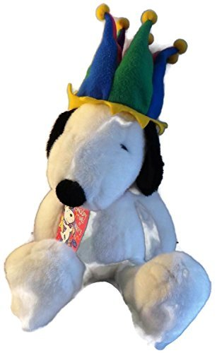 (Peanuts Snoopy Millennium Plush with Fleece Jester Hat Macy's Limited Edition 1999)