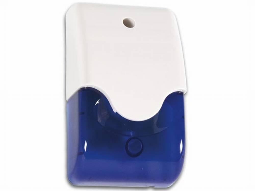 Siren + Blue Strobe in Housing + LED Velleman SV/PSL3B