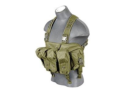 "Lancer Tactical CA-308G CAG ""Tora Bora"" AK Chest Rig (OD GREEN)"