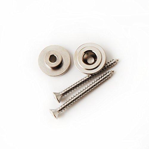 PRS Guitars Strap Button & Screw, NICKEL (2) ()