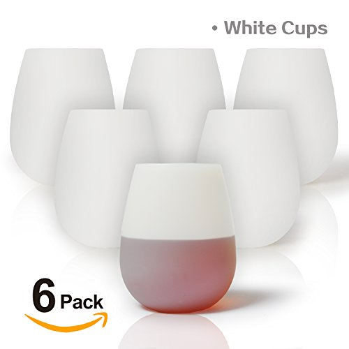 Expert choice for silicone wine glasses set of 12