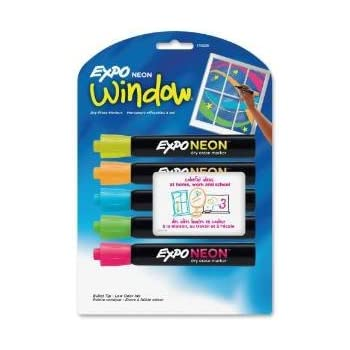 Amazon.com : EXPO Dry Erase Markers, Bullet Tip, Assorted