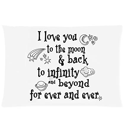 Amazoncom I Love You Theme Quote I Love You To The Moon And