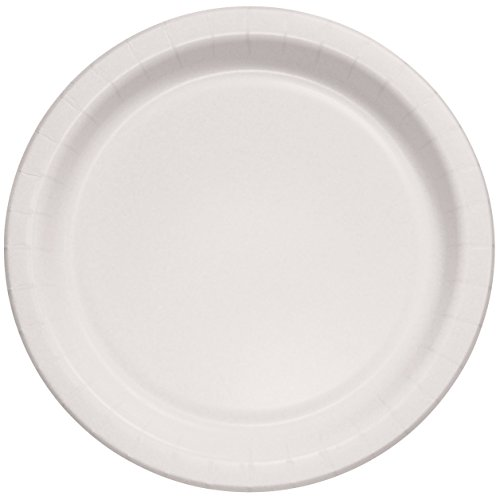 Solo MP9B-2054 8.5 in White Paper Plate, Medium Weight (Case of 500)