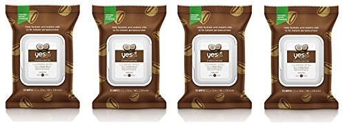 Yes To Coconut Hydrate & Restore Cleansing Facial Wipes (120 Coconut Wipes)