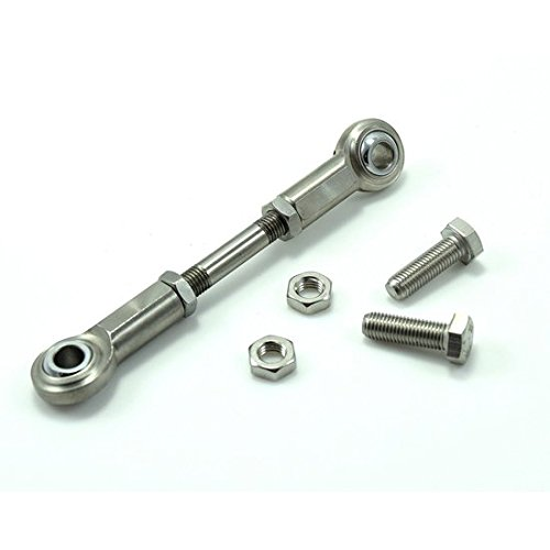 Bung King Mid Control Adjustable Shifter Linkage Stainless, 06 & up BungKing
