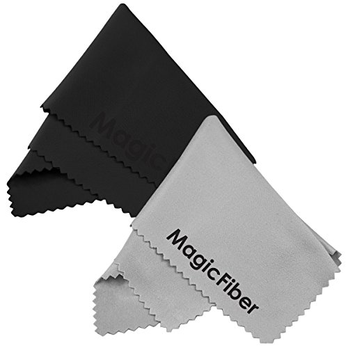 (2 Pack) MagicFiber Microfiber Cleaning Cloths - For Tabl...