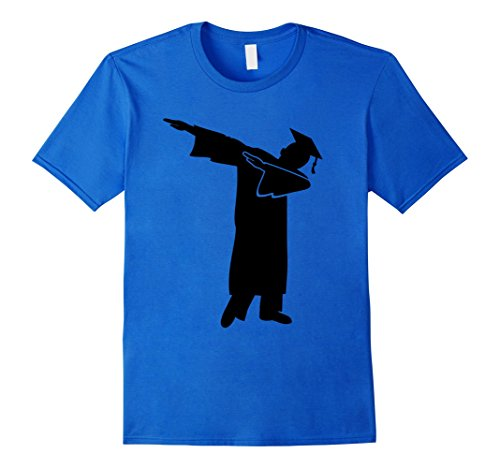 Mens Funny Senior 2017 Shirt College High School Graduation Gift XL Royal Blue (Graduation Gift For A Guy)