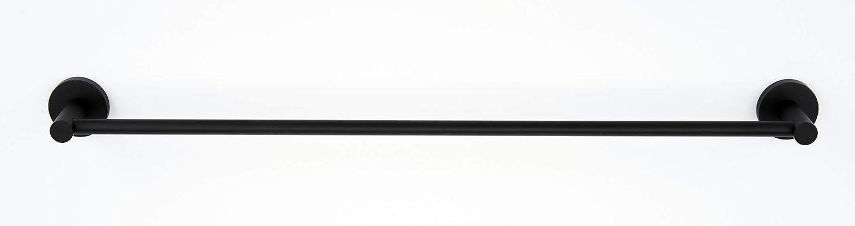"""Alno A8320-24  Contemporary I 24/"""" Wide Single Towel Bar Nickel"""