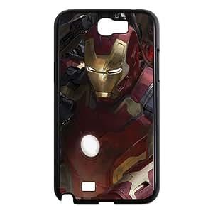 Samsung Galaxy N2 7100 Cell Phone Case Black Iron Man vs Ultron Swarm I8C4WB